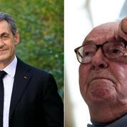 Pour Jean-Marie Le Pen, «Sarkozy est le meilleur candidat des Républicains»
