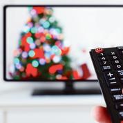Télé et mobile à la fête pour Noël