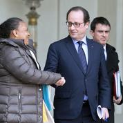 Hollande et Valls maintiennent Taubira malgré ses provocations