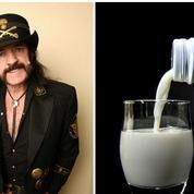 Motörhead : la pub posthume de Lemmy Kilmister pour du lait