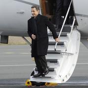 Nicolas Sarkozy en conférence à Abu Dhabi mercredi