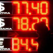 Le pétrole entraîne le rouble russe dans sa chute
