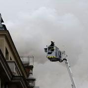 Incendie au Ritz quelques semaines avant sa réouverture