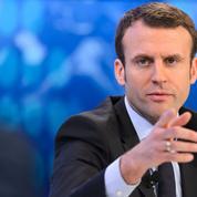 Macron fait son marathon à Davos