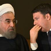 Des statues nues camouflées pour la venue du président iranien à Rome