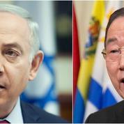 Benyamin Nétanyahou accuse Ban Ki-Moon d'«encourager le terrorisme»