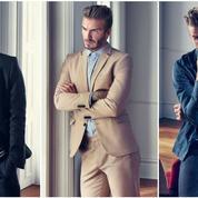 David Beckham jongle entre style et sport pour H&M