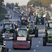 Les agriculteurs en colère changent de tactique