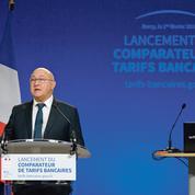 Banque: Bercy mise sur un comparateur de prix pour faire jouer la concurrence