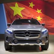La Chine devient le premier marché de Mercedes