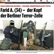 Une cellule terroriste démantelée en Allemagne