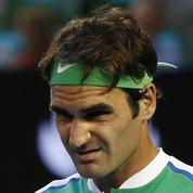 Roger Federer se serait blessé en se promenant avec ses filles