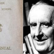 Deux poèmes inédits de J.R.R. Tolkien retrouvés dans une école