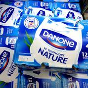 Danone repart à l'offensive dans les yaourts
