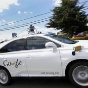 La Google Car provoque son premier accident de la route