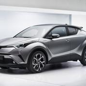 Le Toyota C-HR reste spectaculaire