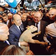 Au Salon de l'agriculture, Juppé ironise sur le «plan Marshall» de Sarkozy