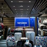 Samsonite met l'américain Tumi dans ses valises