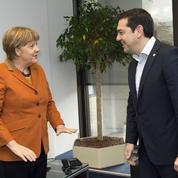 Angela Merkel et Alexis Tsipras, improbables alliés dans la crise des migrants