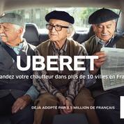 Pour sa première publicité en France, Uber troque son costume contre des bérets
