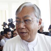 Qui est Htin Kyaw, le nouveau président birman?