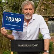 Non, Harrison Ford ne soutient pas Donald Trump