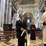 Nicolas Sarkozy va rencontrer le pape François