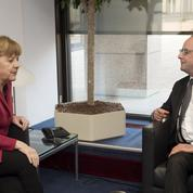 Merkel-Hollande: un tandem à deux vitesses
