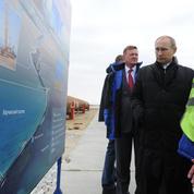 Vladimir Poutine inaugure un projet de pont entre la Russie et la Crimée