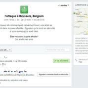 Attentats de Bruxelles : Facebook active son dispositif d'urgence