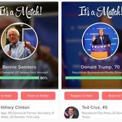 Tinder s'invite dans la campagne américaine