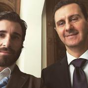 La présence d'un ex du FN à Damas avec des parlementaires français surprend
