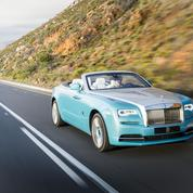 Rolls-Royce Dawn, la reine des cabriolets