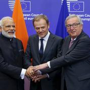 L'Inde et l'Union européenne tentent de relancer leur projet d'accord de libre-échange