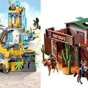 Lego contre Playmobil, le match des stars des jouets