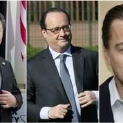 Croissance chinoise, Hollande et l'emploi, DiCaprio et Apple: le récap éco du jour