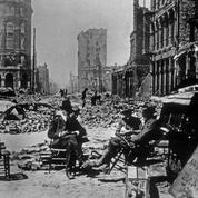San Francisco en ruines après le tremblement de terre du 18 avril 1906