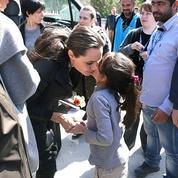 Depuis un an, people et chefs d'État se pressent sur l'île de Lesbos