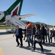 Le Pape est reparti de Lesbos avec trois familles de réfugiés syriens
