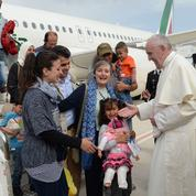 «François nous a redonné la vie» remercient les Syriens accueillis par le Pape