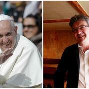 Jean-Luc Mélenchon fait l'éloge du pape François