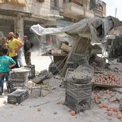 À Alep, les bombardements mettent la trêve en danger