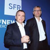 SFR devient un groupe de médias presse et TV