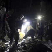 Syrie : plus de 200 civils tués en une semaine à Alep