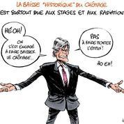 Le dessin d'Ixène: «Hé oh, le chômage!»
