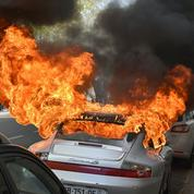 Le désarroi du propriétaire de la Porsche incendiée à Nantes