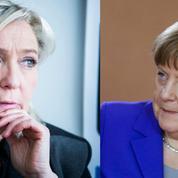 La joute Merkel-Le Pen réjouit le Front national