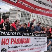 Athènes paralysée par une grève générale de 48 heures