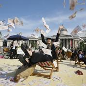 Mobilisation anticorruption à Londres