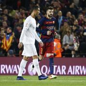 Piqué célèbre le titre du Barça en se moquant de Ronaldo